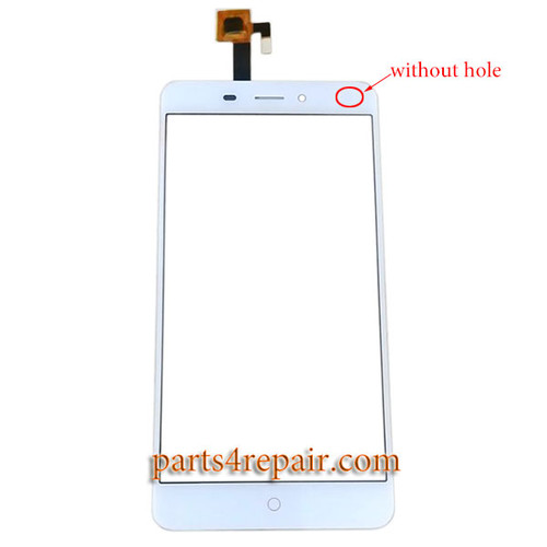 Touch Screen Digitizer for ZTE Nubia N1 NX541J (without hole) -White