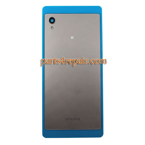 Back Cover with NFC for Sony Xperia M4 Aqua -Silver