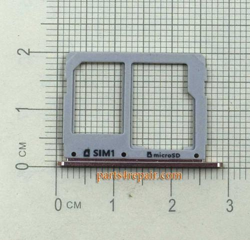 Single SIM Tray for Samsung Galaxy A3100 A5100 A7100 -Gold