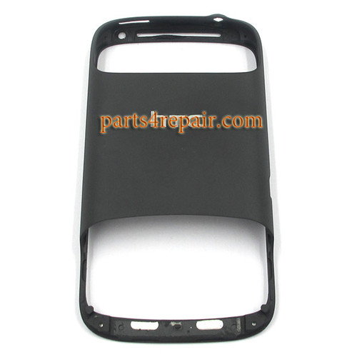 HTC Desire S Frame Bezel Housing Cover Black  from www.parts4repair.com