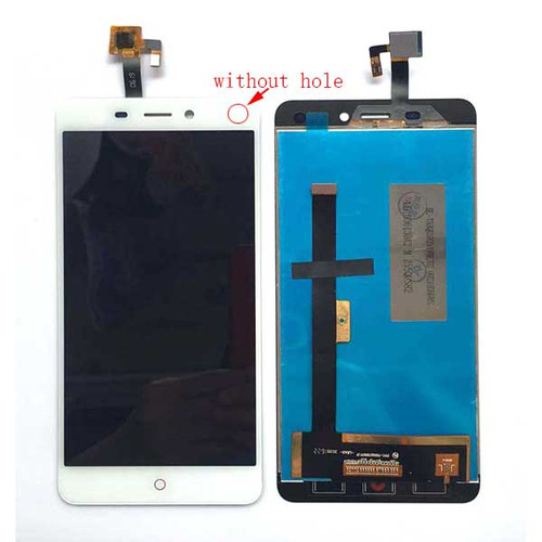 Complete Screen Assembly for ZTE Nubia N1 NX541J (without hole) -White