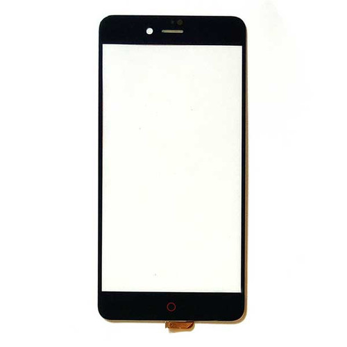 Front Glass with Flex Cable for ZTE Nubia Z11 mini S NX549J -Black