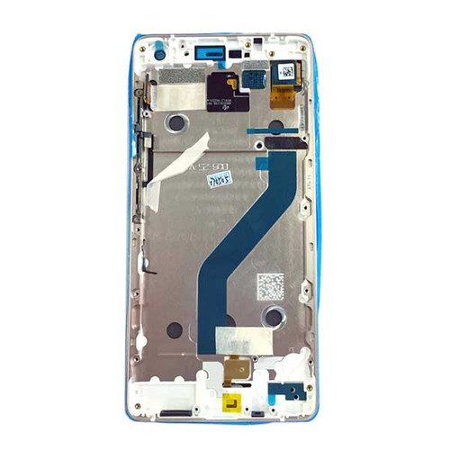 Complete Screen Assembly with Bezel for Lenovo Zuk Z2 Pro -White