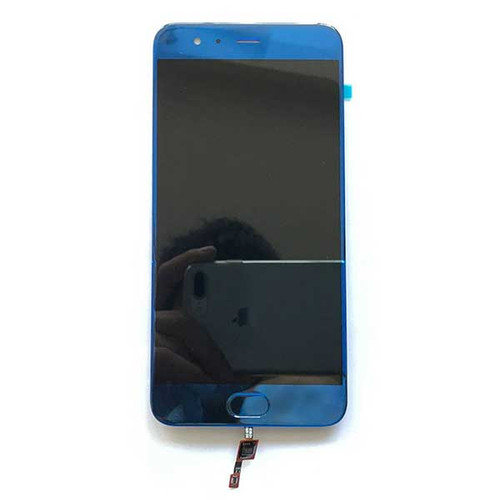 Complete Screen Assembly with Fingerprint Flex Cable for Xiaomi Mi 6 -Blue