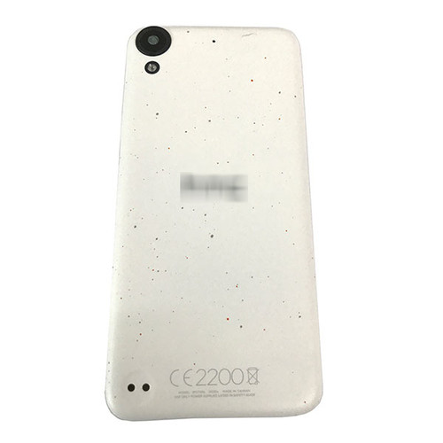 Back Cover with Side Keys for HTC Desire 530 -White (with Dots)