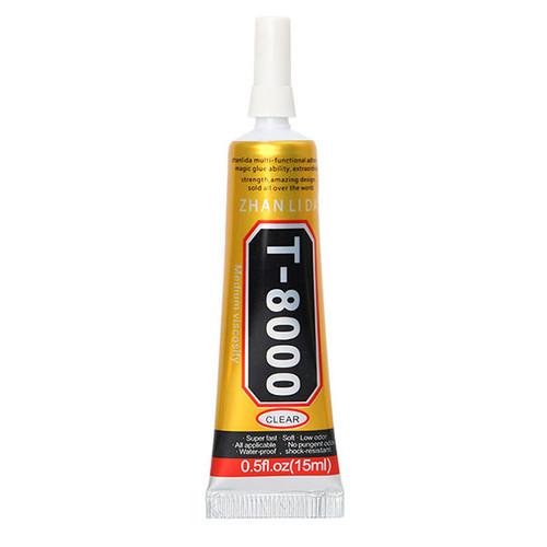 15ml T-8000 Epoxy Resin Multi Purpose Liquid Glue for Repairing Phone Screen Shell