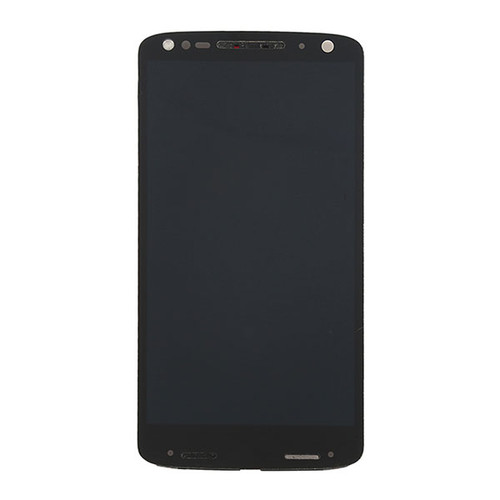 Complete Screen Assembly with Bezel for Motorola Droid Turbo 2 XT1585 (for Verizon) -Black