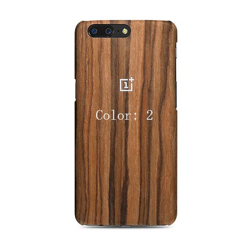 Wood Back Case for Oneplus 5