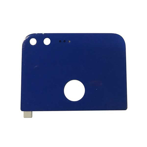 Camera Glass Cover OEM with Adhesive for Google Pixel XL -Blue