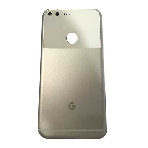 Back Housing Cover with Side Keys for Google Pixel XL -Silver