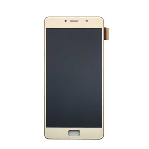 Complete Screen Assembly with Bezel for Lenovo P2 P2a42 -Gold