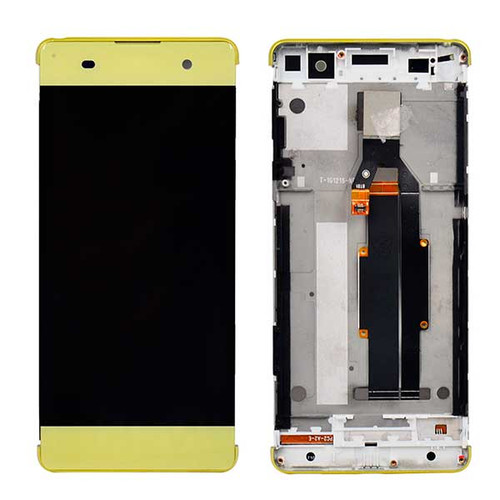 Complete Screen Assembly with Bezel & Tools for Sony Xperia XA Single SIM -Lime Gold
