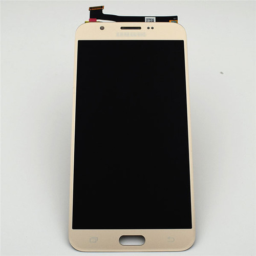 Complete Screen Assembly for Samsung Galaxy J7 Perx J727 Sprint (Refurbished) -Gold