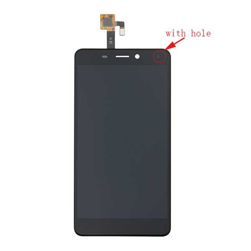 Complete Screen Assembly for ZTE Nubia N1 NX541J (with hole) -Black