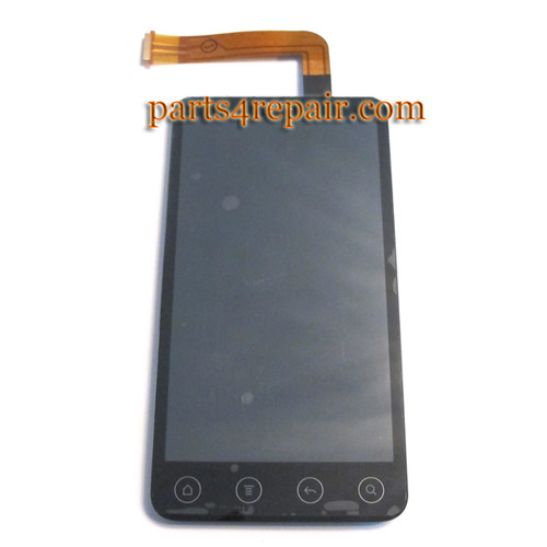 Complete Screen Assembly for HTC EVO 3D