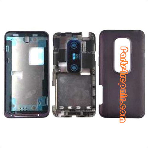 HTC EVO 3D Full Housing Cover from www.parts4repair.com