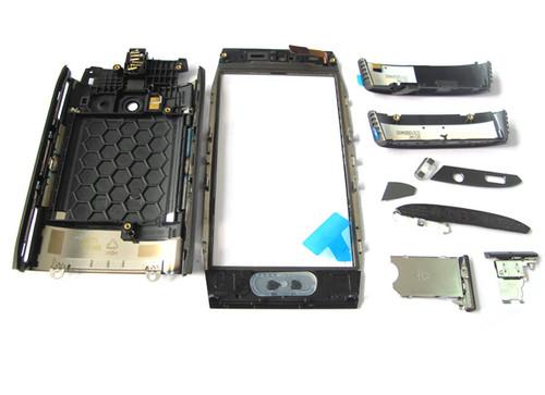 Full Housing Cover for Nokia X7-00 -Black