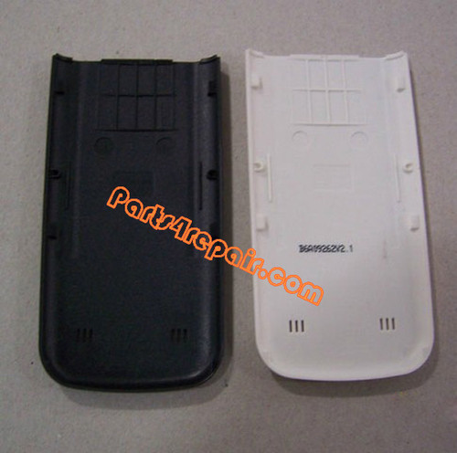 Nokia 6730 Classic Back Cover White from www.parts4repair.com