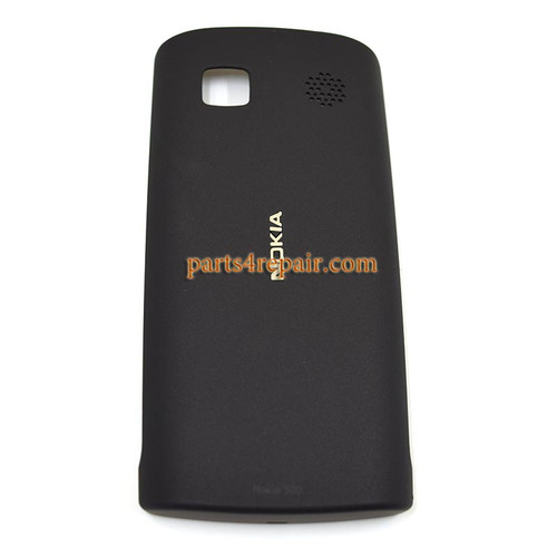 Nokia 500 Back Cover Black from www.parts4repair.com