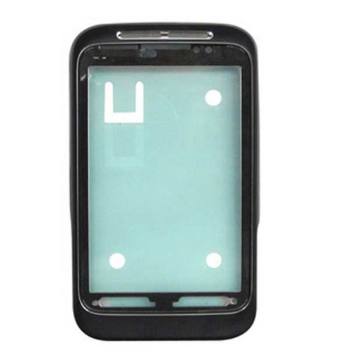 HTC Wildfire S Front Cover Black from www.parts4repair.com