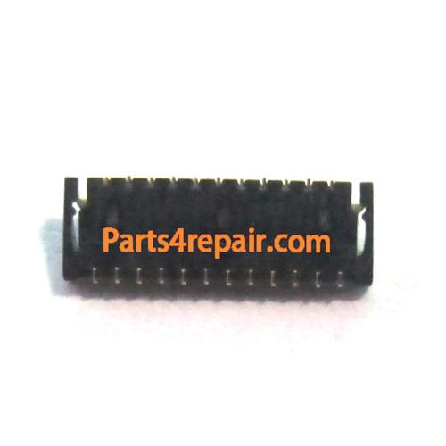 23pin LCD Display Flex FPC Connector for HTC Sensation / Sensation XE