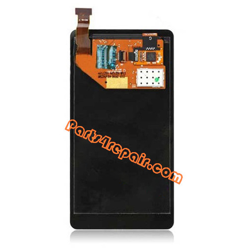Nokia Lumia 800 Complete Screen Assembly from www.parts4repair.com