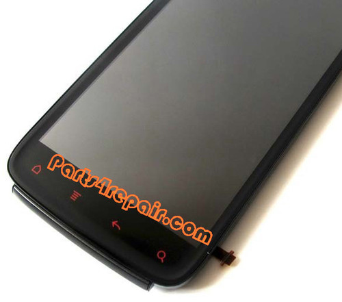Complete Screen Assembly with Bezel for HTC Sensation XE