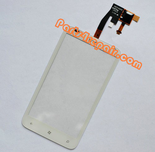 Touch Screen Digitizer for HTC Radar -White