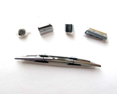 Sony Ericsson Xperia Arc S Keypads -Black from www.parts4repair.com