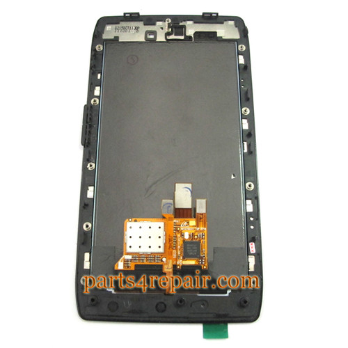 Complete Screen Assembly with Bezel for Motorola RAZR XT910 / XT912