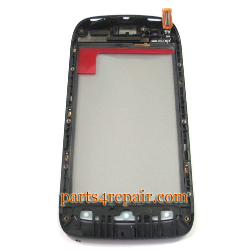 Touch Lens for Nokia Lumia 710 -Black