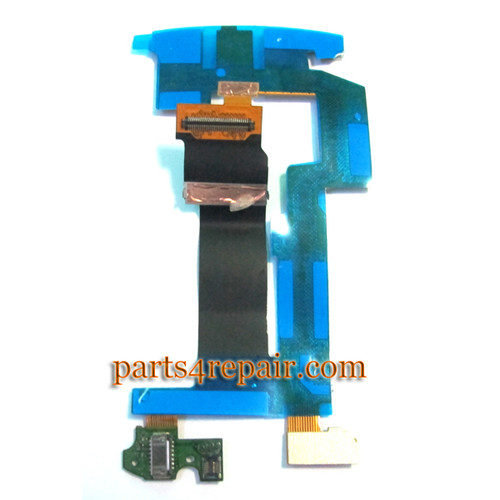 BlackBerry Torch 9810 Main Board Motherboard Slide Flex Cable Ribbon