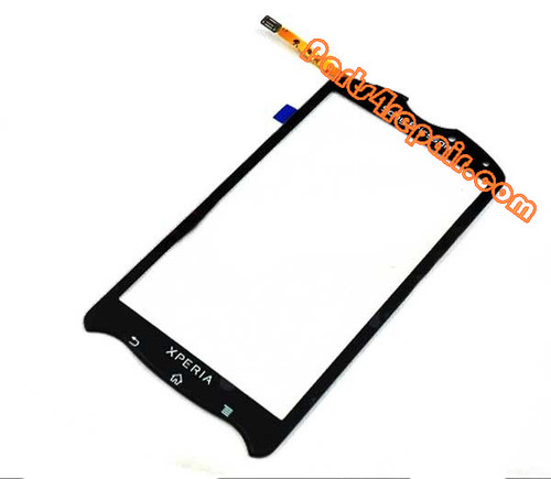 Sony Ericsson Xperia Pro Touch Screen with Digitizer -Black from www.parts4repair.com