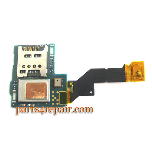 Sony Xperia S SIM Holder Flex Cable from www.parts4repair.com