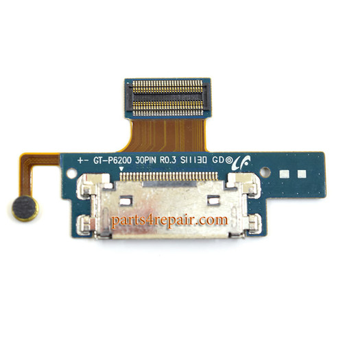 Samsung P6200 Galaxy Tab 7.0 Plus Dock Charging Connector Flex Cable from www.parts4repair.com