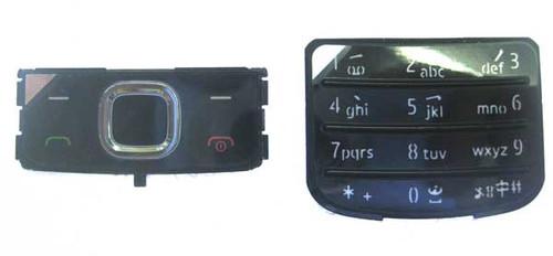 Nokia 6700 Keypad Keyboard Replacement -Black