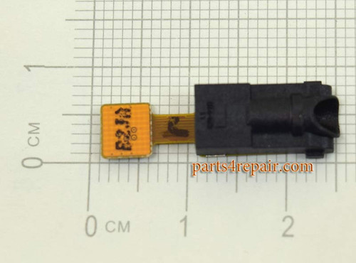Samsung P6800 Galaxy Tab 7.7 Earphone Jack Flex Cable from www.parts4repair.com