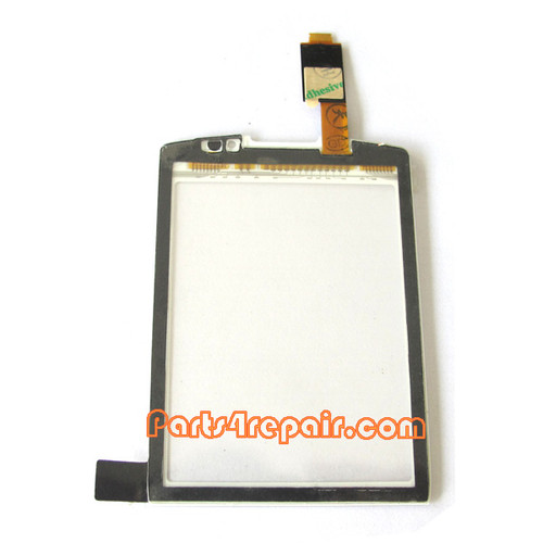 Touch Screen Digitizer for BlackBerry Torch 9810 -White