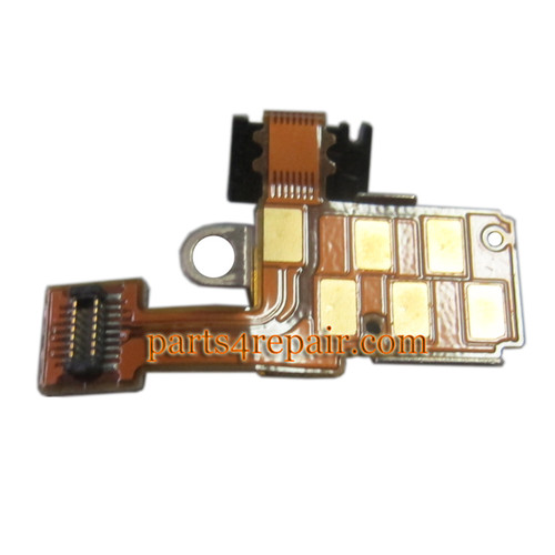 Sony Xperia go ST27i Power Button Connector Flex Cable from www.parts4repair.com