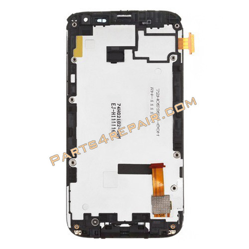 Complete Screen Assembly with Bezel Replacement for HTC Sensation XL