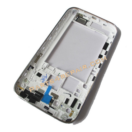 Samsung Galaxy Note II N7100 (T-Mobile) Middle Cover -White
