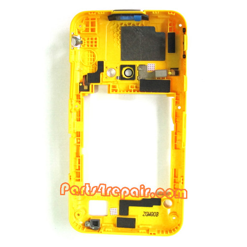 We can offer original Samsung I8530 Galaxy Beam Middle Cover -White