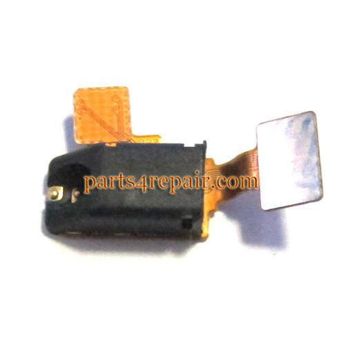 Earphone Jack Plug Flex Cable for LG Nexus 4 E960 from www.parts4repair.com