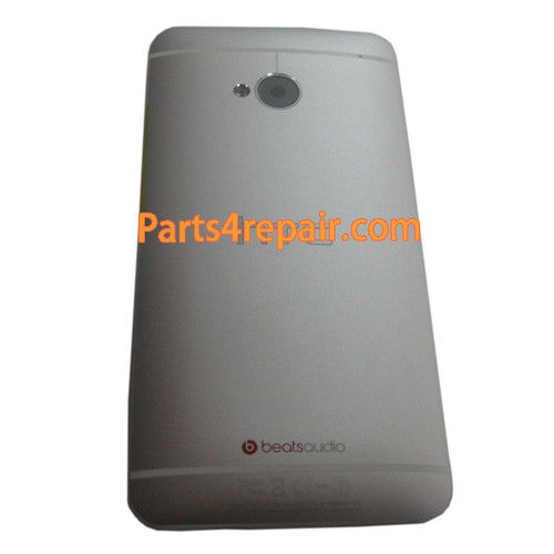 Back Cover for HTC One M7 -White