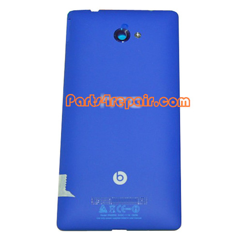 Back Cover for HTC Windows Phone 8X (HTC Version)-Blue