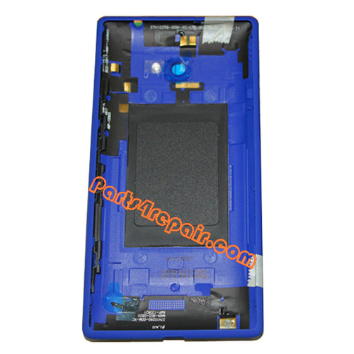 We can offer Back Cover for HTC Windows Phone 8X -Blue