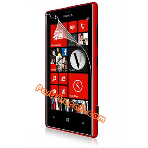Clear Screen Protector Shield Film for Nokia Lumia 810
