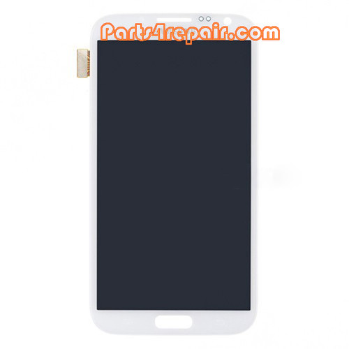 Complete Screen Assembly for Samsung Galaxy Note II N7100 -White