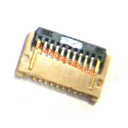 Touch Screen FPC Connector for Samsung Galaxy Note II N7100 from www.parts4repair.com