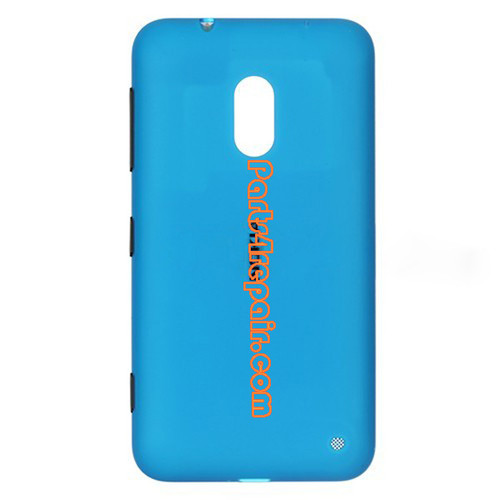 Back Cover for Nokia Lumia 620 -Blue from www.parts4repair.com